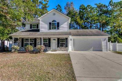 Myrtle Beach Single Family Home Active-Pend. Cntgt. On Financi: 3999 Grousewood Dr