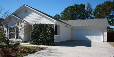 Murrells Inlet Single Family Home Active-Pend. Cntgt. On Financi: 9832 Conifer Ln