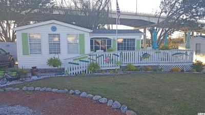 North Myrtle Beach Single Family Home For Sale: 410 Low Tide Drive