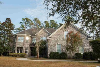 Murrells Inlet Single Family Home For Sale: 617 Nautilus Drive