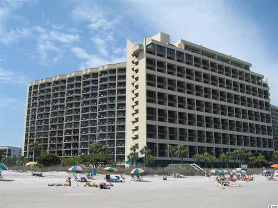 Myrtle Beach, North Myrtle Beach Condo/Townhouse For Sale: 7100 N Ocean Blvd, # 205 #205