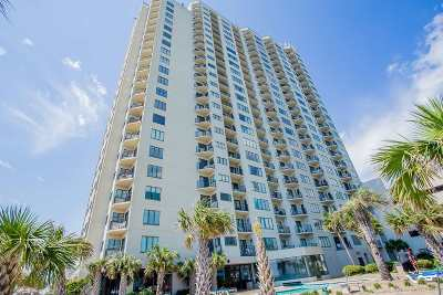 Myrtle Beach, North Myrtle Beach Condo/Townhouse For Sale: 1605 S Ocean Blvd #614