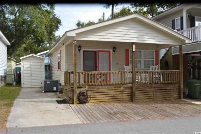 Myrtle Beach Single Family Home For Sale: 6001 S Kings Highway, Site 1505
