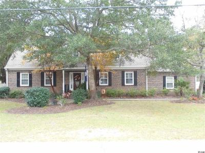 North Myrtle Beach Single Family Home For Sale: 1402 Golfview