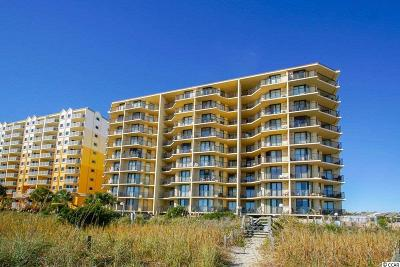 North Myrtle Beach Condo/Townhouse For Sale: 4701 S Ocean Blvd #7-F