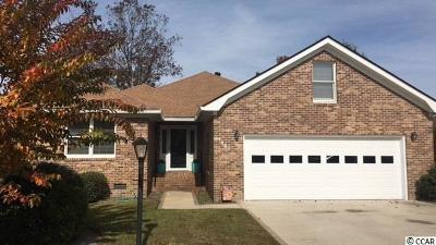 North Myrtle Beach Single Family Home For Sale: 1436 Fox Hollow Way