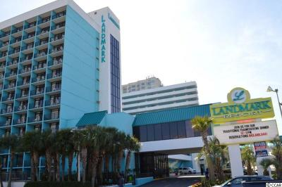 Myrtle Beach, North Myrtle Beach Condo/Townhouse For Sale: 1501 S Ocean Blvd #511 #511