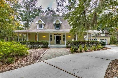 Pawleys Island Single Family Home Active-Pend. Contingent Contra: 48 Sawgrass Loop