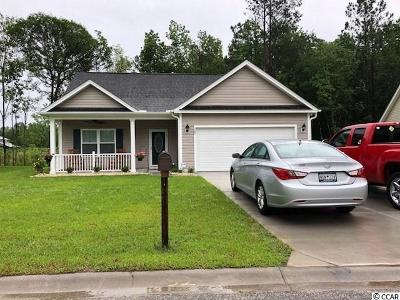 Loris SC Single Family Home For Sale: $139,999