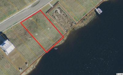 Georgetown County, Horry County Residential Lots & Land For Sale: Lot 80/81 Harbour View Drive