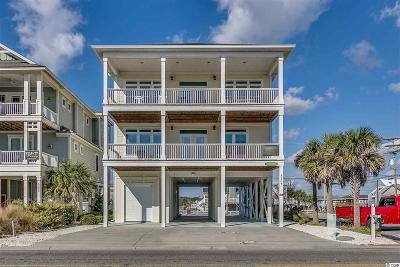 North Myrtle Beach Single Family Home For Sale: 5207 N Ocean Blvd.