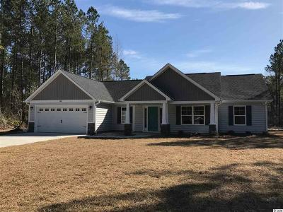 Galivants Ferry SC Single Family Home Active-Pend. Cntgt. On Financi: $179,000