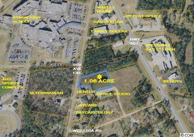 Horry County Residential Lots & Land For Sale: Tbd 9th Ave. Ext