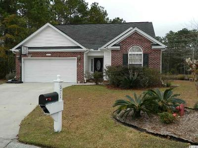 Myrtle Beach SC Single Family Home Sold: $250,000