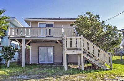 North Myrtle Beach Single Family Home For Sale: 206 32nd Avenue North
