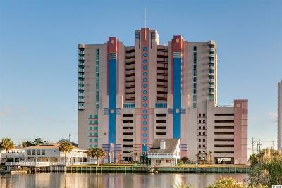 North Myrtle Beach Condo/Townhouse For Sale: 3601 N Ocean Blvd #PH1935
