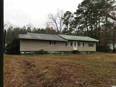 Loris SC Single Family Home For Sale: $64,900