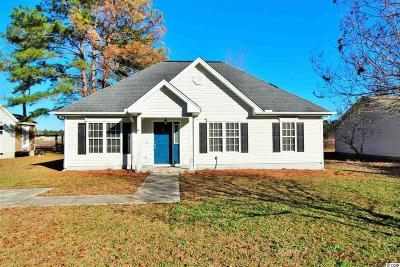 Myrtle Beach Single Family Home Active-Pend. Cntgt. On Financi: 5932 Rahnavard Boulevard