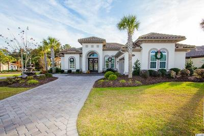 Myrtle Beach Single Family Home Active-Pend. Cntgt. On Financi: 9016 Bella Verde Court
