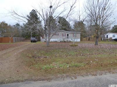 Conway SC Single Family Home For Sale: $69,900
