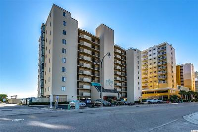 North Myrtle Beach Condo/Townhouse For Sale: 4701 S Ocean Blvd. #2F