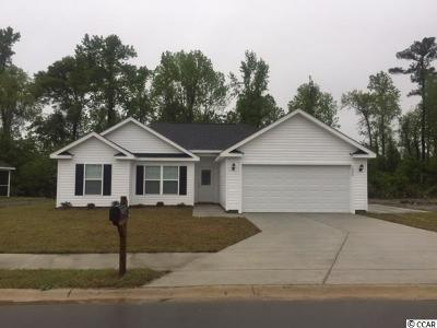 Conway SC Single Family Home Active-Pend. Cntgt. On Financi: $156,000