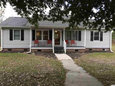 Loris SC Single Family Home For Sale: $115,900