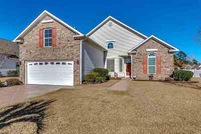Murrells Inlet Single Family Home For Sale: 117 Pheasant Run Drive