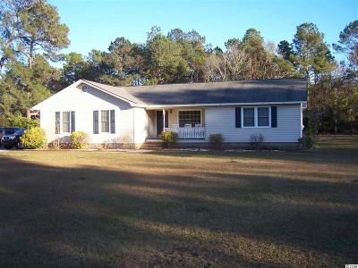 Loris SC Single Family Home For Sale: $159,900