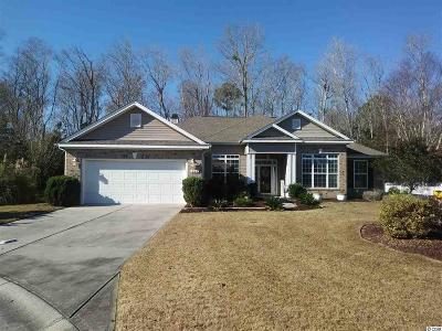 Myrtle Beach Single Family Home Active-Pend. Contingent Contra: 688 Tidal Point