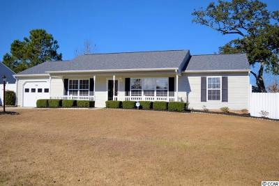 Longs Single Family Home For Sale: 369 Boxcar Dr