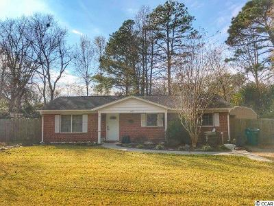 Myrtle Beach Single Family Home Active-Hold-Don't Show: 4071 Long Line Ln