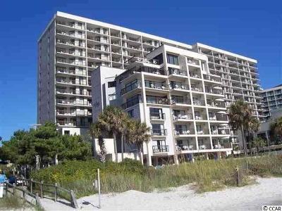 Myrtle Beach Condo/Townhouse For Sale: 7200 N Ocean Blvd. #103