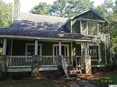 Pawleys Island Single Family Home For Sale: 160 Shipmaster Ave.
