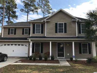 Murrells Inlet Single Family Home For Sale: 302 Stratford