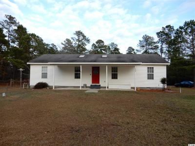 Loris Single Family Home For Sale: 1614 Hewitt Road