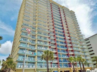 Myrtle Beach Condo/Townhouse For Sale: 2007 S Ocean Blvd #1705