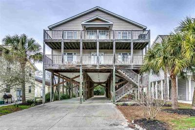 North Myrtle Beach Single Family Home For Sale: 4614 Surf Street
