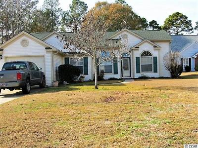 Murrells Inlet Single Family Home Active-Pend. Cntgt. On Financi: 2106 Green Heron Dr