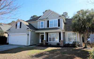 Murrells Inlet Single Family Home For Sale: 124 Winding River Rd