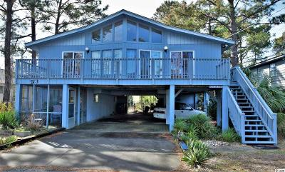 Surfside Beach Single Family Home For Sale: 213 10th Avenue, South
