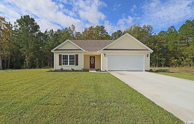 Georgetown Single Family Home For Sale: Tbd Lot 52 Timber Run Drive