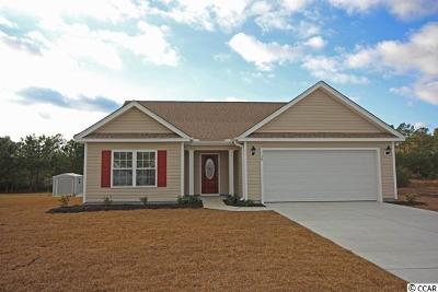 Georgetown Single Family Home For Sale: Tbd Lot 7 Rolling Oak Drive