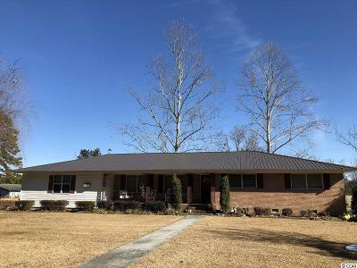 Loris Single Family Home Active-Hold-Don't Show: 3925 Red Bluff Road