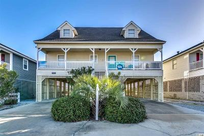 North Myrtle Beach Single Family Home For Sale: 5108 N Ocean Blvd