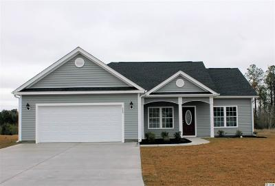 Horry County Single Family Home Active-Pend. Cntgt. On Financi: 259 Copperwood Loop