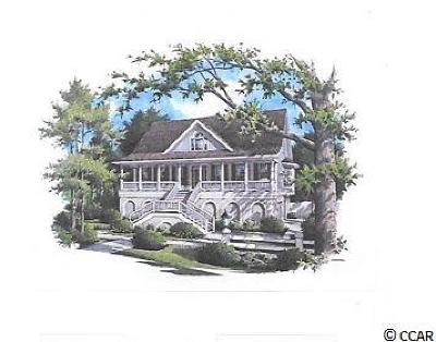 Murrells Inlet Single Family Home For Sale: 3647 Jordan Landing Rd