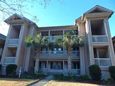 Pawleys Island SC Condo/Townhouse Active-Pend. Cntgt. On Financi: $134,000