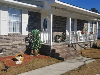 Conway SC Single Family Home Active-Pend. Cntgt. On Financi: $112,000