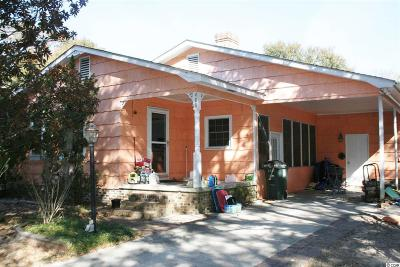 North Myrtle Beach Single Family Home Active-Hold-Don't Show: 408 S 3rd Avenue
